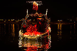 Boat #50 at APS Fantasy of Lights Boat Parade