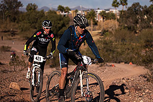 #3 and #421 Mountain Biking at 12 Hours at Papago in Tempe