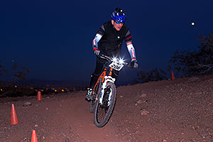 #206 Mountain Biking at 12 Hours at Papago in Tempe