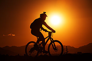 #202 Mountain Biking at 12 Hours at Papago in Tempe