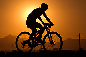 #239 Mountain Biking at 12 Hours at Papago in Tempe