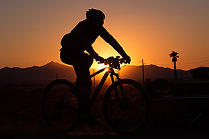 #406 Mountain Biking at 12 Hours at Papago in Tempe