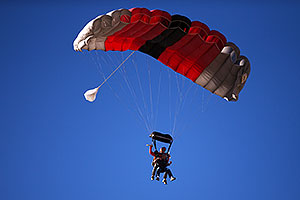 Mesquite Skydivers at Lake Havasu Balloon Fest