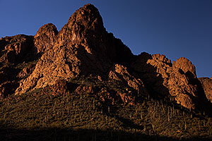 View of Superstitions