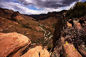 Apache Trail from above