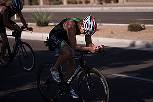 Cycling at Tempe Triathlon