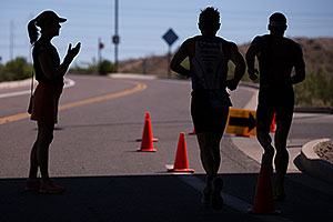 Running at Tempe Triathlon