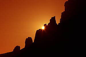 Sunrise in Superstitions