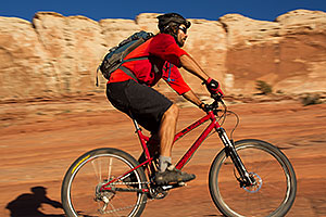 Mountain Biking in Moab
