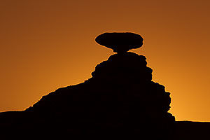 Mexican Hat at sunrise
