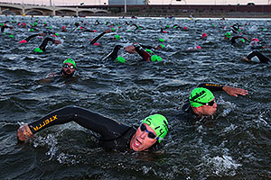 - #514 swimming at Ironman Arizona 2013