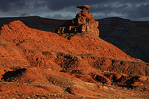 Evening at Mexican Hat, Utah
