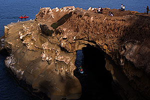 Cave at La Jolla, California