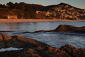 Evening at Laguna Beach, California