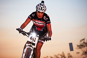 Mountain Biking at 12 Hours at Papago in Tempe