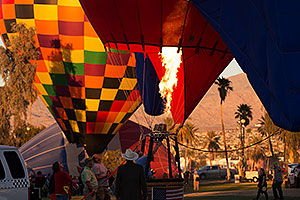 Tethered balloon at Lake Havasu Balloon Fest