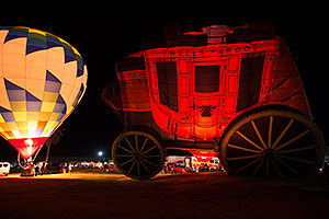 Wells Fargo Stagecoach (Special Shapes) at Lake Havasu Balloon Fest