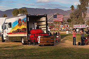 Wells Fargo Balloon Truck at Lake Havasu Balloon Fest