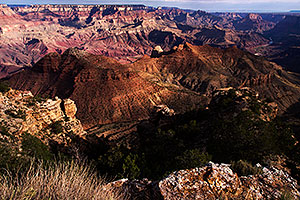 Morning at Navajo Point at Grand Canyon
