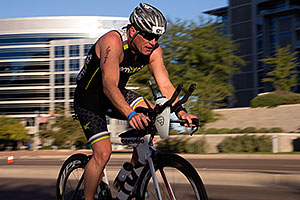 01:13:55 cycling at Ironman Arizona 2014