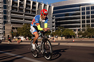 01:23:58 cycling at Ironman Arizona 2014
