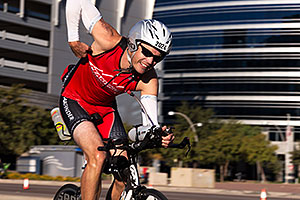 01:40:42 cycling at Ironman Arizona 2014