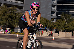 01:41:27 cycling at Ironman Arizona 2014