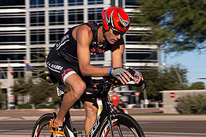 01:42:55 cycling at Ironman Arizona 2014
