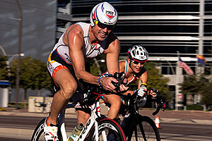 01:42:58 cycling at Ironman Arizona 2014