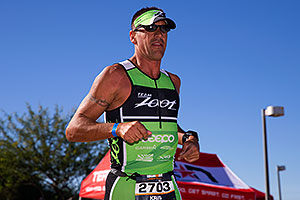 06:41:36 Running at Ironman Arizona 2014