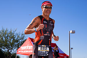 07:03:38 Running at Ironman Arizona 2014
