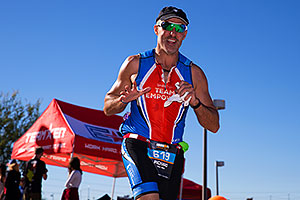 07:38:55 Running at Ironman Arizona 2014