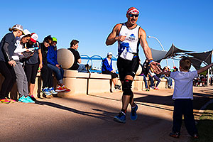 07:56:40 Running at Ironman Arizona 2014