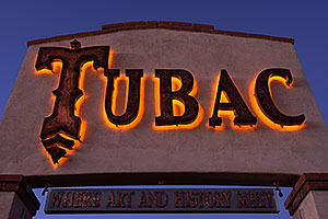 Where art and History Meet - Luminaria Nights in Tubac, Arizona