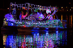 Boat #15 at APS Fantasy of Lights Boat Parade