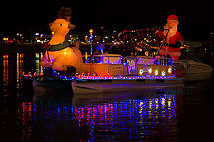 Boat #30 at APS Fantasy of Lights Boat Parade