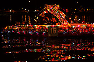 Boat #16 at APS Fantasy of Lights Boat Parade