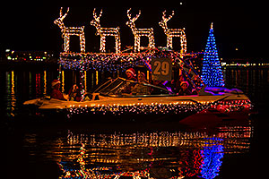 Boat #29 at APS Fantasy of Lights Boat Parade