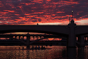 Sunset in Tempe, Arizona