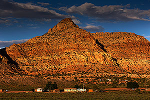 Afternoon in Gap, Navajo Land, Arizona