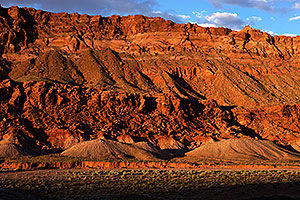 Evening near Gap, Navajo Land, Arizona