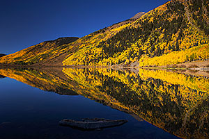 Crystal Lake Reflections at Red Mountain Pass