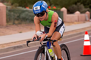 02:48:28 #92 Michaela Herlbauer [8th,AUT,09:14:59] cycling at Ironman Arizona 2015