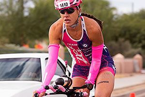 03:08:52 #1410 cycling at Ironman Arizona 2015