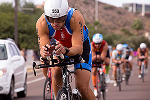 03:28:25 #553 cycling at Ironman Arizona 2015