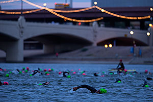 00:27:49 Swimming at Ironman Arizona 2015