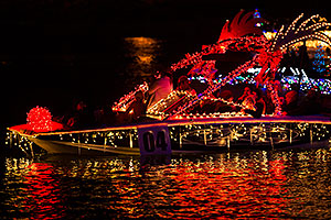 Boat #04 at APS Fantasy of Lights Boat Parade