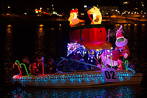 Boat #02 at APS Fantasy of Lights Boat Parade