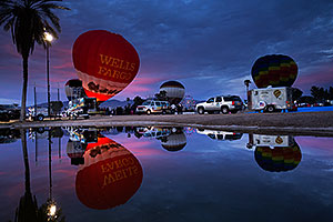 Wells Fargo balloon in Lake Havasu
