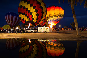 Balloons in Lake Havasu